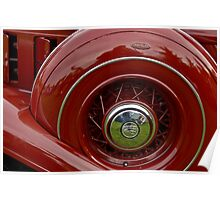 1933 Chrysler Abstract Poster