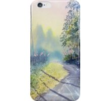 Rambling amidst the Rosebay iPhone Case/Skin
