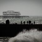 West Pier & The Doughnut Groyne by Corbin Adler