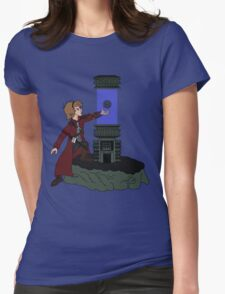 ORB IN THE STONE Womens Fitted T-Shirt