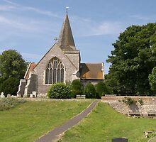 Alfriston Parish Church, Sussex UK by ColinBoylett