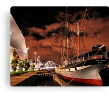 Polly Woodside Canvas Print