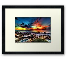 Wicked Sunset Framed Print