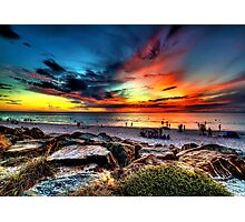 Wicked Sunset Photographic Print