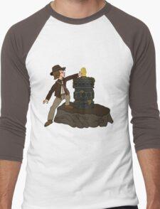 IDOL IN THE STONE Men's Baseball ¾ T-Shirt