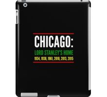 Chicago: Lord Stanley's Home (Striped) iPad Case/Skin