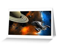 Voyager Greeting Card