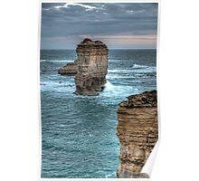 Limestone Stack • Victoria Poster