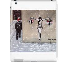 Happy Christmas from Banksy iPad Case/Skin