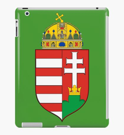 Coat of Arms of the Kingdom of Hungary iPad Case/Skin