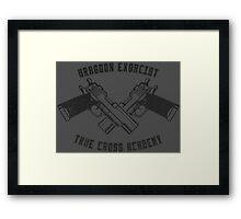 Dragoon Exorcist Framed Print