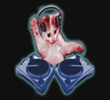Dj Kitty by Monkeykittiequy