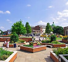 Corporation Street Garden, Derby by Rod Johnson