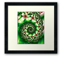 A Garden of Flowers Framed Print