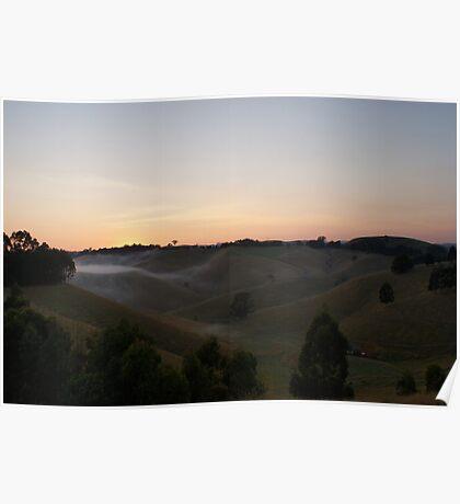Volcanic Mist Poster
