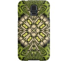 Abstract yellow pattern Samsung Galaxy Case/Skin