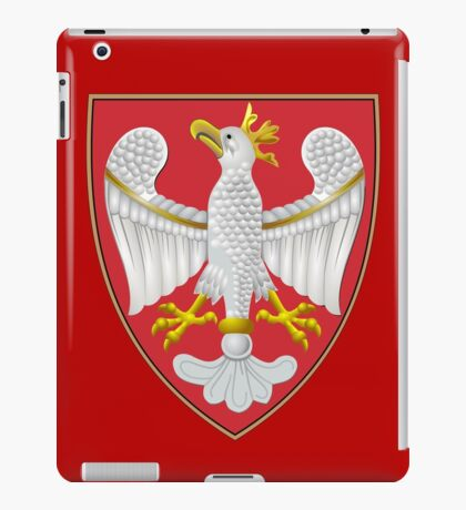 Coat of Arms of the Kingdom of Poland iPad Case/Skin