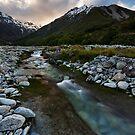 Aoraki Riverscape by Robert Mullner