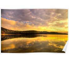 Peace - Narrabeen Lakes, Sydney - The HDR Experience Poster
