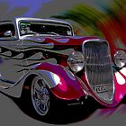 Hot Rods  by doug hunwick