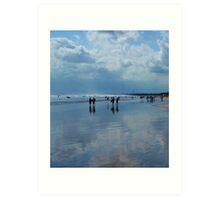 Happy Hour - Kuta Beach, Bali Art Print