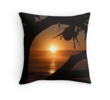 Corindi Beach 2nd August 09 Throw Pillow