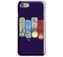 Ghibli Elemental Charms iPhone Case/Skin