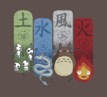 Ghibli Elemental Charms One Piece - Short Sleeve