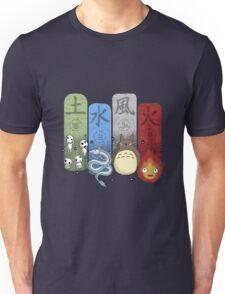 Ghibli Elemental Charms Unisex T-Shirt