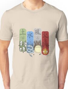 Ghibli Elemental Charms Unisex T-Shirt