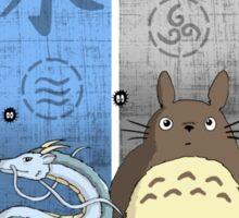 Ghibli Elemental Charms Sticker