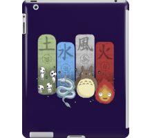 Ghibli Elemental Charms iPad Case/Skin