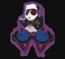 DJ Panda by Monkeykittiequy