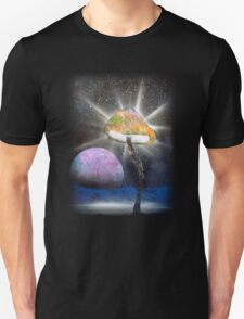 The Power of the Fungal Planet Unisex T-Shirt