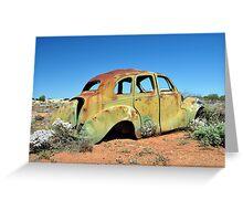 Austin A40 Devon - Kookynie, WA Greeting Card