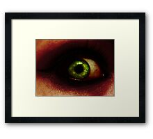 pANic_We can hold on. Framed Print
