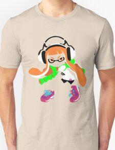 Splatoon Inkling Color Art T-Shirt