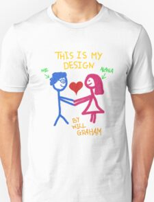 This is Will's design Unisex T-Shirt
