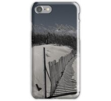 sand dune in black & white iPhone Case/Skin