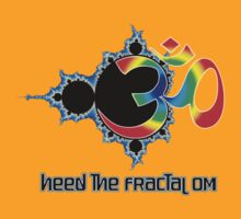 Heed The Fractal Om by Bonnie Aungle