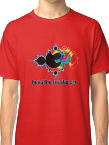 Heed The Fractal Om Classic T-Shirt