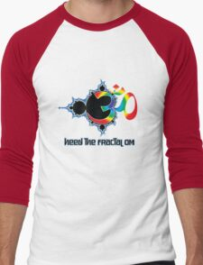Heed The Fractal Om Men's Baseball ¾ T-Shirt
