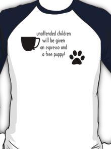 Unattended children T-Shirt