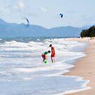 Beach fun by LouD