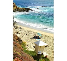 Lazy Laguna Beach Afternoon  Photographic Print