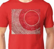 Red Kachina original painting Unisex T-Shirt