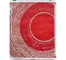Red Kachina original painting iPad Case/Skin