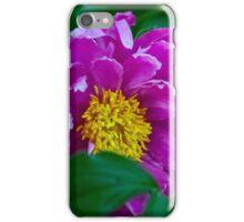 Garden Peony iPhone Case/Skin