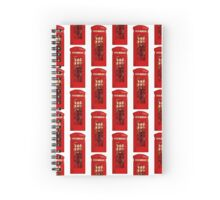 London telephone box Spiral Notebook