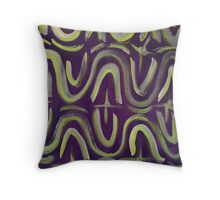 El Mulo Design by Octavious Sage Throw Pillow